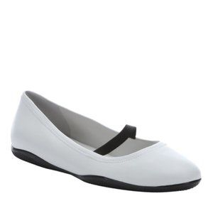 NEW Prada Sport Flats in White & Black Leather
